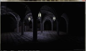 Cathedral Wine cellar by David-the-Cenobite