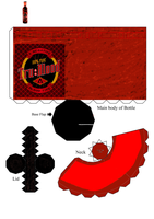 True Blood bottle by Allhallowseve31