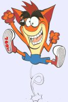 .crash bandicoot by rods3000