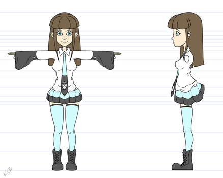 Lois Caricature - Character Sheet by Kunazami