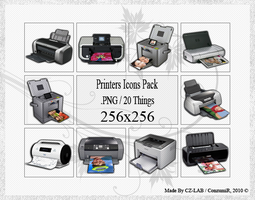 Printers Icons Pack by conzumir