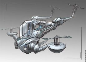 Helicopter concept by N7U2E