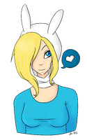 Fionna the Human by NeonPinkSkys