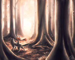 .: Lost in the Twilight :. by PepperMoonFlakes