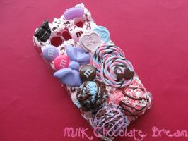 Pastel Ice Cream Decoden Phone Case by Frainy