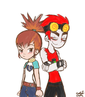GT: Rika And Jack by PrincessCallyie