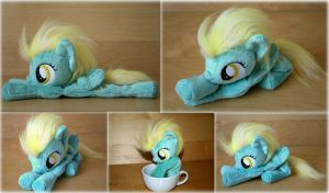 My Little Pony - Lightening Dust  - Beanie Plush by Lavim