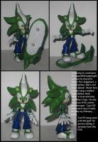 custom commission: Skylor the Hedgehawk by Wakeangel2001