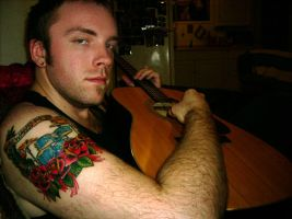 James Drum Tattoo Completed by lurver
