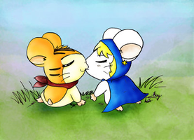 two hamsters by Airy-F
