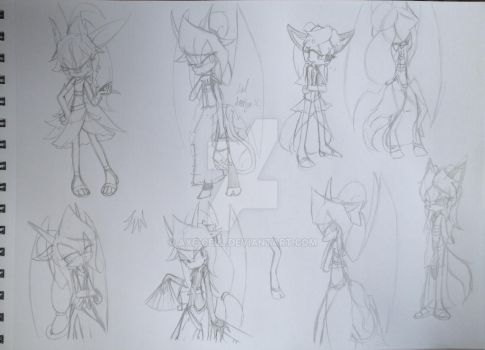 -Practice Sketches- C. C. S. by Axe-Cell