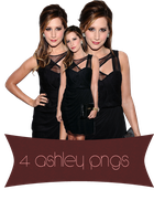 Ashley Png Pack by TerriusCandy