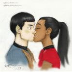 Spock and Uhura by CaptBexx