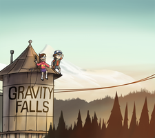 Gravity Falls by Arabesque91