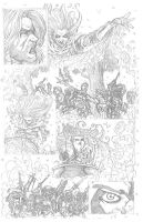 Something Evil page 12 pencils by RudyVasquez