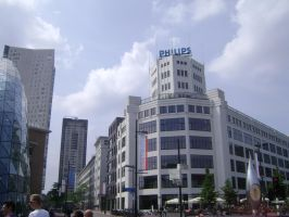 Downtown of Eindhoven II by TammuzAsmodeus