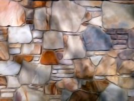 Shadow Striped Rock Formation Texturation by DonnaMarie113