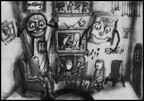 Don't Hug Me I'm Scared - Time to Get Creative by Dye-Macabre