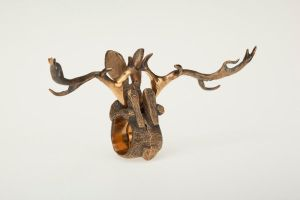 Jackalope rings 3 by keikoface