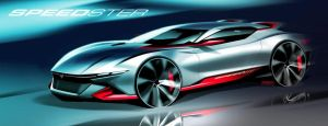 Concept Speedster Coupe | Tony Chen by TonyWcK