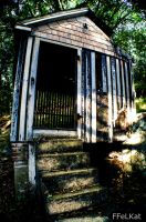 Abandoned chicken coop by FFeLKat