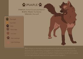 Maple ref by DawnFrost