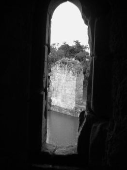 Window of a castle by Unsraw-fan