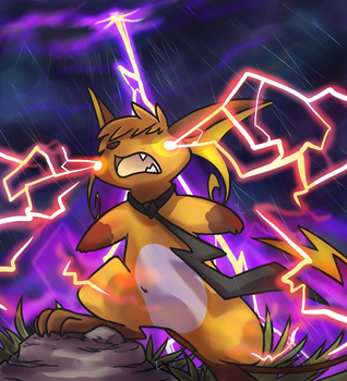 Mike's Thunder by ClefdeSoll