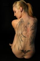 Inked Angel by UniqueNudes