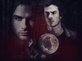 Damon Salvatore 2 :33 by llWickedll