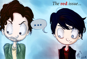 The RED issue... by AelitaC