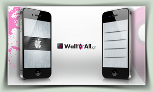 white_apple by WallforAll