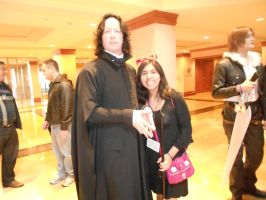 AnimeUSA 2012 - Severus Snape and Kiki by Angel1224