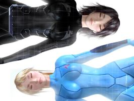 Zero Suits by montyoum