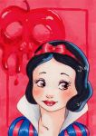 Snow white-Aceo by Faerytale-Wings