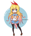 Chitoge by pikabang