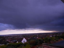 Moody day over Faeham by Kayleigh-Kaz