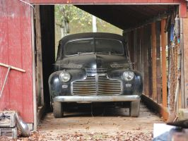 Carport with '41 Chevy by finhead4ever