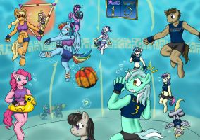 [MLP] Blitzball: Equestrian Edition by FlamedramonX20