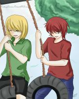 Mello and Matt- Simplicity by KatsuyaCrimson