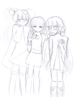 Family Picture .:Rough Sketch:. by Erika624