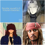 me in 3 fictional characters by rondrigo-alex