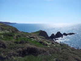 Hartland Quay Outing 02 by Shadow-StrikeRaven