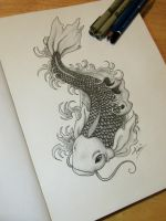Koi Fish by LydiaHawthorne