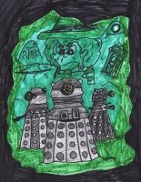 The Daleks by SonicClone