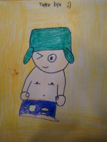 kyle topless drawing by MewMewMinto1123