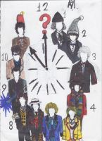 Doctor Who Clock by Chipperdog