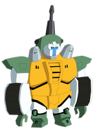 Transformers Animated Guzzle by Destron23
