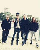 Tokio Hotel in Tokyo colorize by AmyLawrence