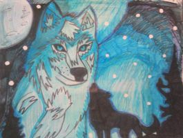 wolf king by noonfeather